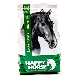 Happy Horse Leckerli 1 kg - Sparpaket: 2 x 1 kg Kräuter Minze