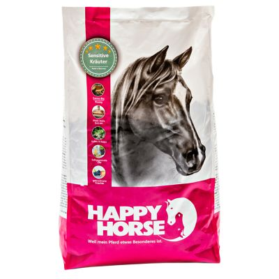 Happy Horse Sensitive Kräuter - Sparpaket: 4 x 7 kg