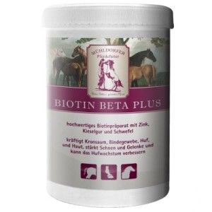 Mühldorfer Biotin Beta Plus - Sparpaket: 2 x 750 g
