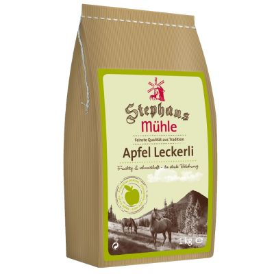 Stephans Mühle Pferdeleckerli Apfel - 1 kg