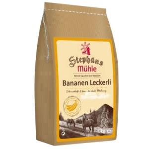 Stephans Mühle Pferdeleckerli Banane - 3 x 1 kg