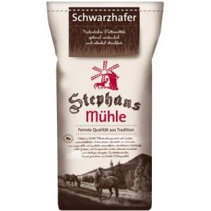 Stephans Mühle Schwarzhafer - 25 kg