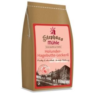 Vorratspaket: Stephans Mühle Pferdeleckerlis 15 x 1 kg - Holunder-Hagebutte