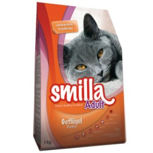 1 + 1 gratis! Smilla Trockenfutter 2 x 1 kg - Light