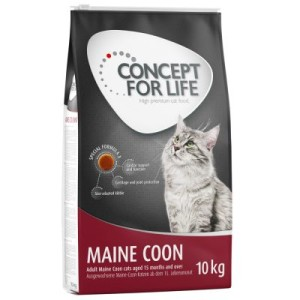 10 + 2 kg gratis! 12 kg Concept for Life Katzentrockenfutter - All Cats 10+