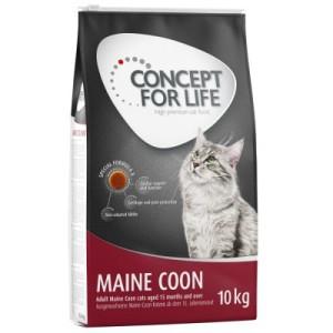 10 + 2 kg gratis! 12 kg Concept for Life Katzentrockenfutter - Indoor Cats