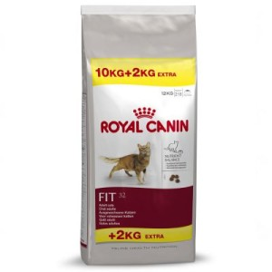 10 + 2 kg gratis! 12 kg Royal Canin Feline - Fit 32