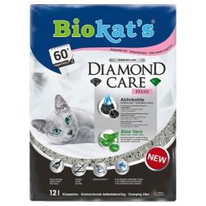 10 + 2 l gratis! 12 l Biokat´s DIAMOND CARE Katzenstreu - Biokat´s DIAMOND CARE Classic Katzenstreu