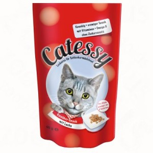 10 kg Porta 21 + 65 g Catessy Knabber-Snacks gratis! - Holistic Cat Huhn & Reis