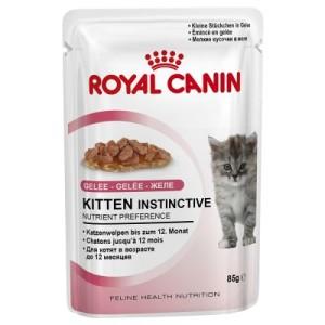 10 kg Royal Canin + 12 x 85 g Instinctive Soße/Gelee gratis! - Kitten (10 kg) + 12 x 85 g Instinctive in Soße