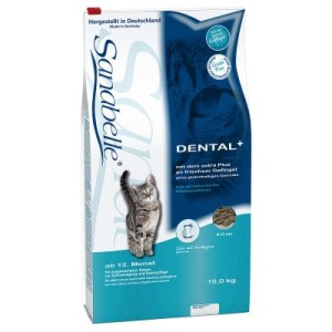 10 kg Sanabelle Dental & 12 x 20 g Dental Snack gratis! - 10 kg