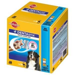 100 + 12 gratis! 112 x Pedigree Dentastix - für große Hunde
