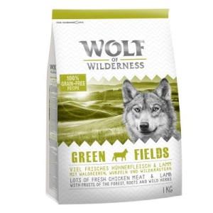 1+1 gratis! 2 x 1 kg Wolf of Wilderness Trockenfutter - Wild Hills - Ente