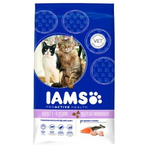 12 kg + 3 kg gratis! 15 kg Iams Adult Multi-Cat - 12 kg + 3 kg gratis!