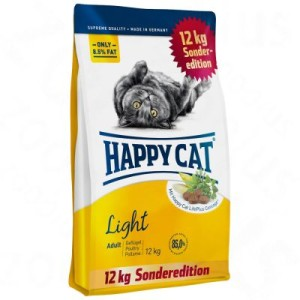 12 kg Happy Cat Supreme zum Sonderpreis! - Supreme Adult Light