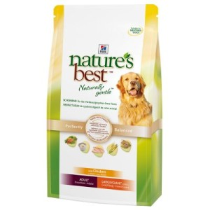 12 kg Hill's Nature's Best + Rocco Rinderohren gratis! - Adult Mini/Medium (12 kg)