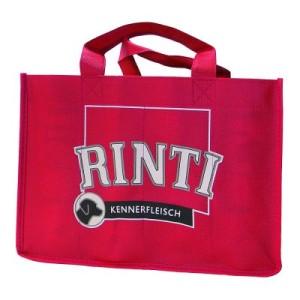 16 x 400 g Rinti Kennerfleisch + Rinti Tasche gratis! - Junior: Rind