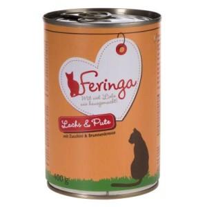 2-fach Bonuspunkte: Feringa Menü Duo-Sorten 24 x 400 g - Kaninchen & Truthahn