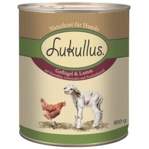 2-fach Bonuspunkte auf Lukullus 24 x 800 g - Kaninchen & Wild