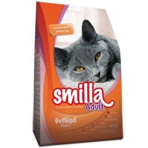 2 kg gratis! 10 kg Smilla Trockenfutter - Adult Light