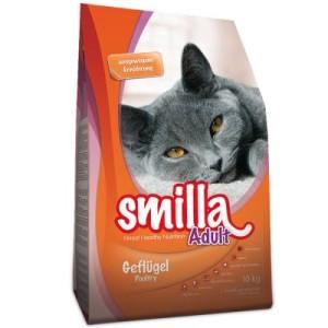 2 kg gratis! 10 kg Smilla Trockenfutter - Adult Urinary