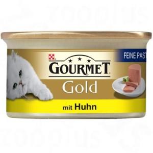 20 + 4 gratis! 24 x 85 g Gourmet Gold/Perle - Feine Pastete Huhn