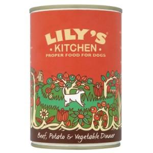 24 x 400 g Lily's Kitchen Dinner Nassfutter - Wild Campfire Stew mit Fasan & Wild
