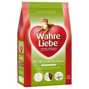 3 kg + 1 kg gratis! 4 kg Wahre Liebe Trockenfutter - für Graue Eminenzen