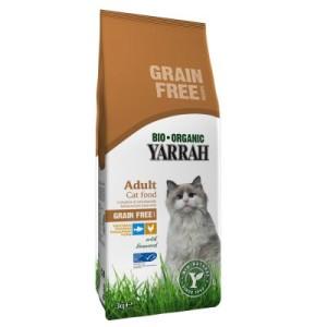3 kg Yarrah Bio + Yarrah Bio Katzensticks gratis! - mit Huhn & Fisch getreidefrei