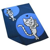 4 kg Happy Cat + Kuscheldecke gratis! - Adult Atlantik-Lachs