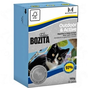 400 g Bozita + 2 x 190 g Bozita zum Probierpreis! - Hair & Skin - Sensitive
