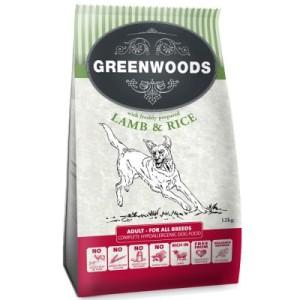 5 € sparen auf 12 kg Greenwoods Hundetrockenfutter - Adult Lamm & Reis