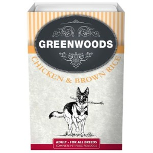 5 + 1 gratis! 6 x 395 g Greenwoods Adult Nassfutter - Lachs & brauner Reis