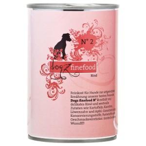 5 + 1 gratis! 6 x 400 g Dogz Finefood im gemischten Paket - Gemischtes Probierpaket