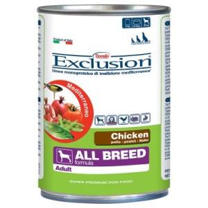 5 + 1 gratis! 6 x 400 g Exclusion Mediterraneo - mit Fisch