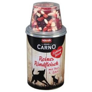 5 + 1 gratis! Animonda Gran Carno Lieblingsfleisch 410/430 g - Reines Rindfleisch mit Herz & Leber mit Gemüse