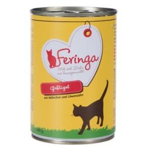 5 + 1 gratis! Feringa Menü Duo-Sorten 6 x 200 g/6 x 400 g - Kaninchen & Truthahn 6 x 400 g