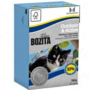 6 x 190 g Bozita Feline im gemischten Probierpaket - gemischtes Paket