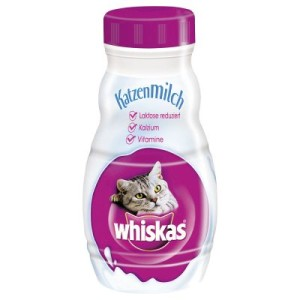 6 x 200 ml Whiskas Katzenmilch - 6 x 200 ml