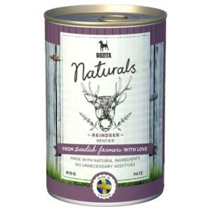 6 x 410 g Bozita Naturals Pate im gemischten Probierpaket - Mix