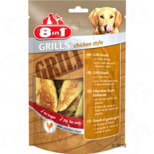 8in1 Delights Grills Chicken - 80 g