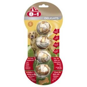 8in1 Delights Kaubälle - 6 x 36 g (24 Stück)