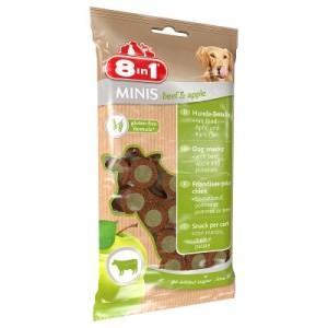 8in1 Minis - 4 x 100 g Rind & Apfel