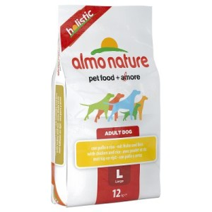 Almo Nature Adult Huhn & Reis Large - Sparpaket: 2 x 12 kg