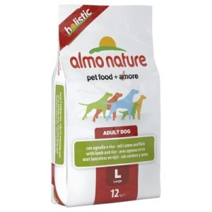Almo Nature Adult Lamm & Reis Large - 12 kg