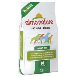 Almo Nature Adult Lamm & Reis Medium - Sparpaket: 2 x 12 kg