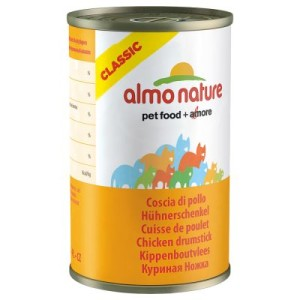 Almo Nature Classic 6 x 140 g - Huhn & Jungsardellen