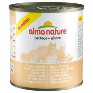 Almo Nature Classic 6 x 280 g - Lachs & Kürbis