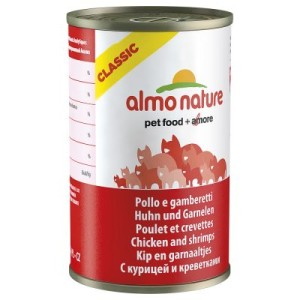 Almo Nature Classic Gemischtes Probierpaket 6 x 140 g - Gemischtes Probierpaket 6 x 140 g