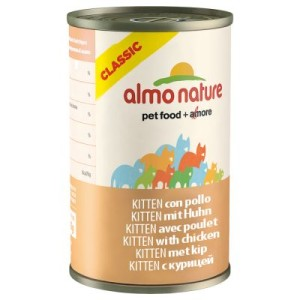 Almo Nature Classic Kitten 6 x 140 g - Huhn